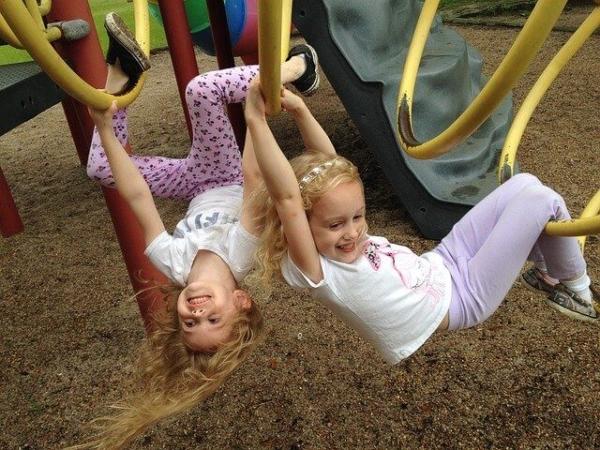 preschool kids playing