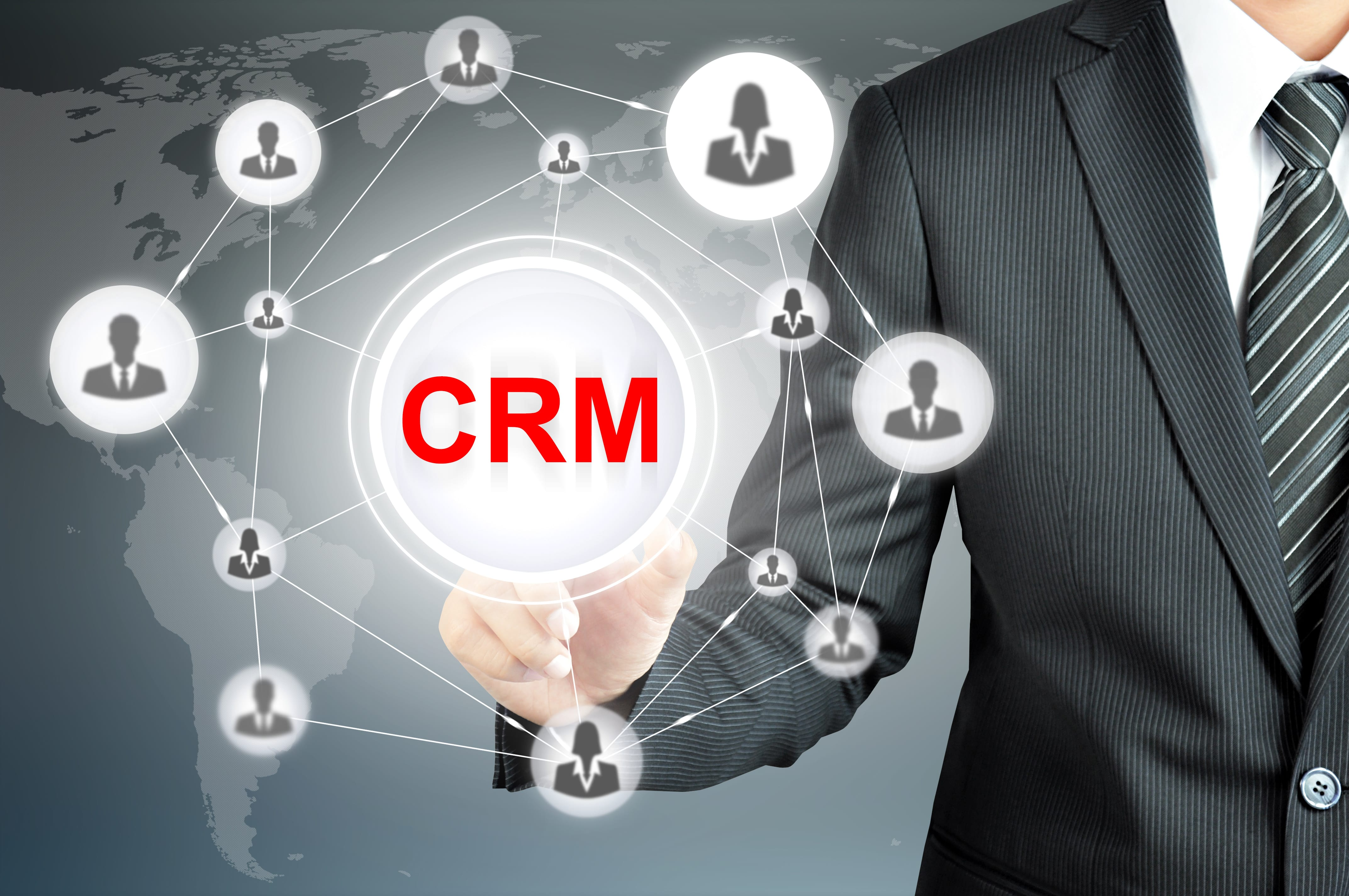 setting up a crm