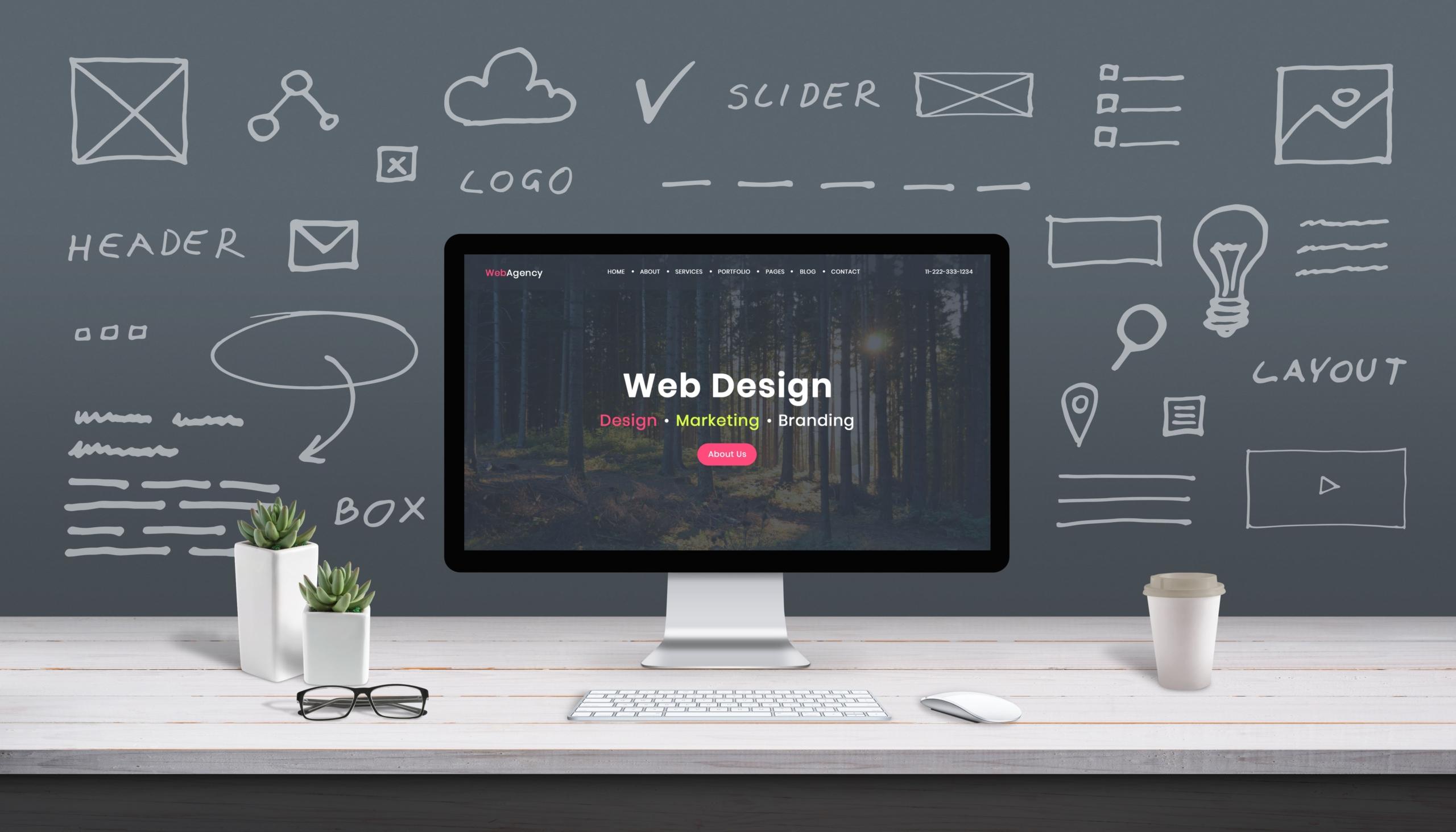 Designing Daycare Website