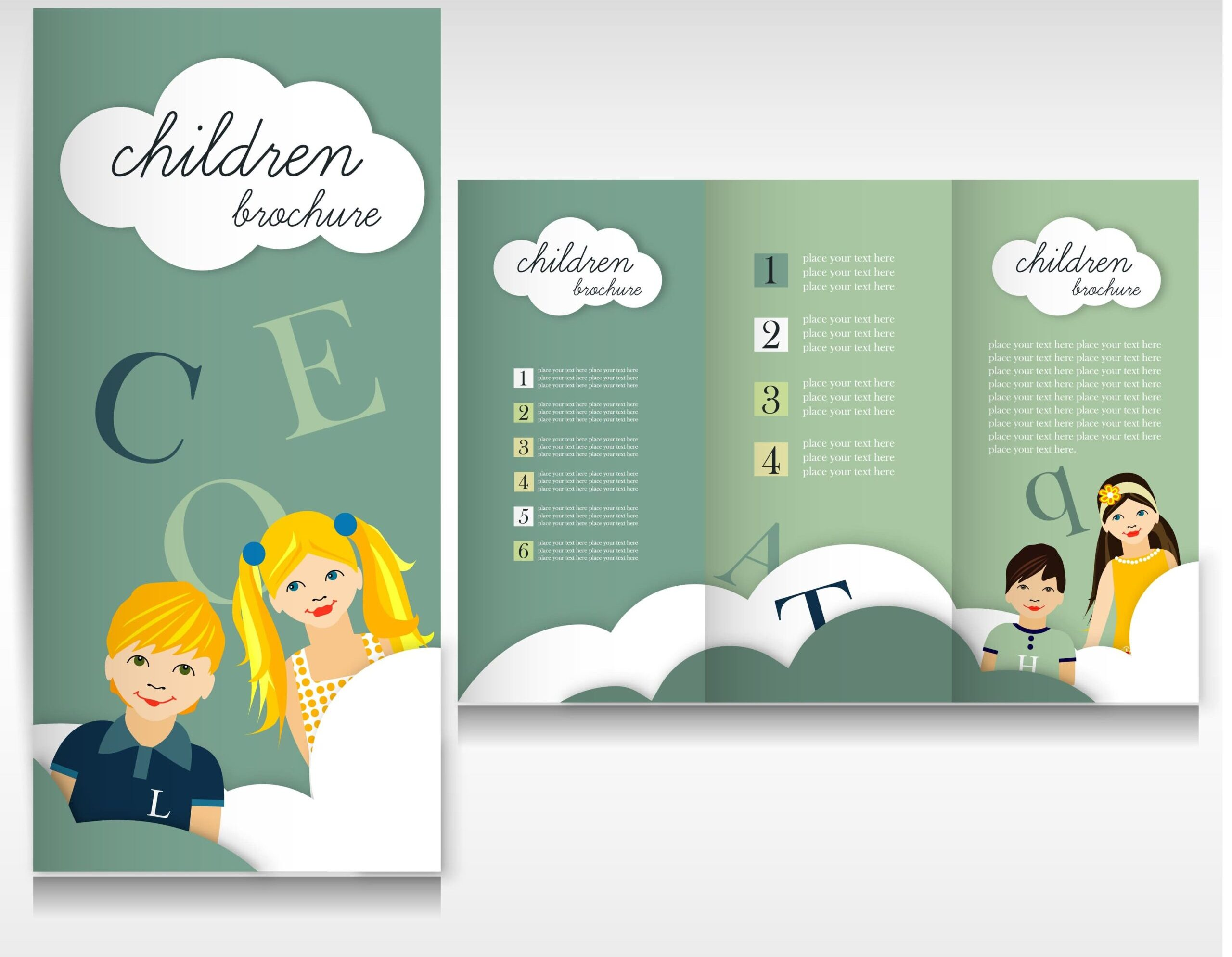 child care center brochure