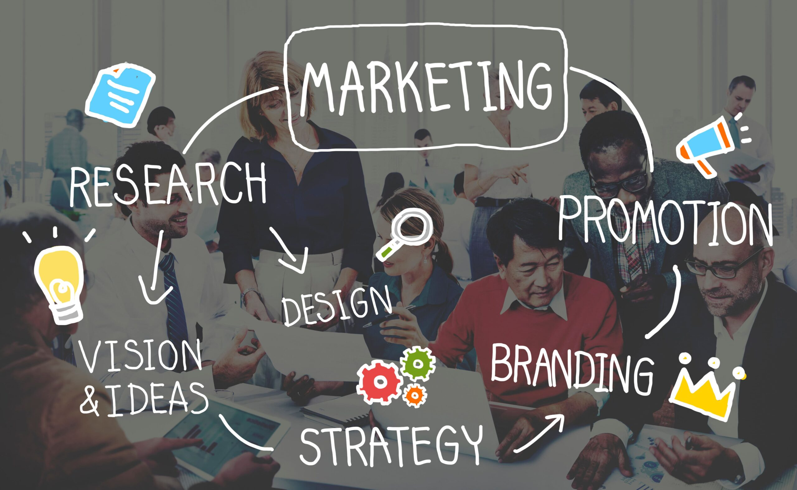 Marketing Strategy Business Information Vision Target Concept - marketing tips for child care